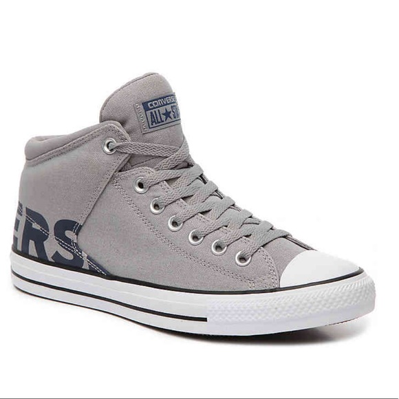 Converse Other - Men s Gray CHUCK TAYLOR ALL-STAR Mid-Top Sneakers f114c0bf2f0b